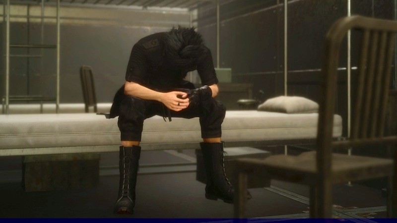 The Ten Stages Of Coping With Final Fantasy 15's Chapter 13