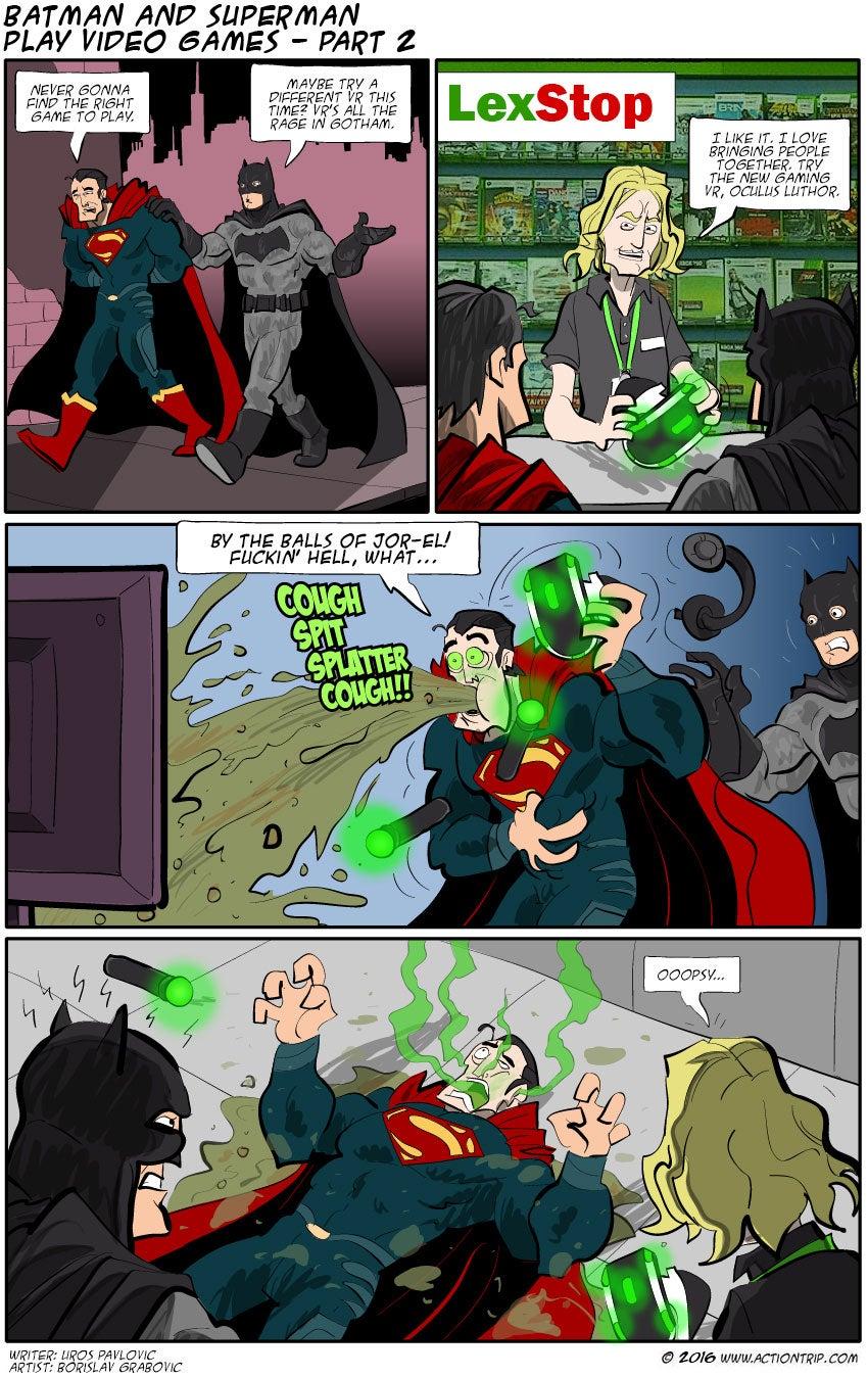 Sunday Comics: By The Balls Of Jor-El