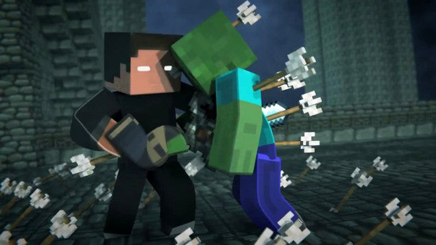 Every Monster Dies in this Badass Minecraft Fighting Animation
