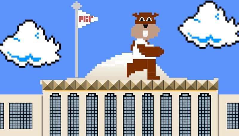 Playing Super Mario Brothers Is Like Solving A Super Hard