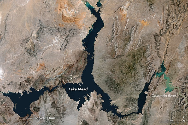 The Largest Reservoir in the United States Just Hit an 80 Year Low