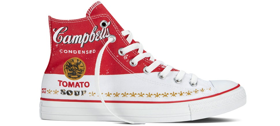 Converse Is Now Wrapping Its Sneakers In Andy Warhol's Art