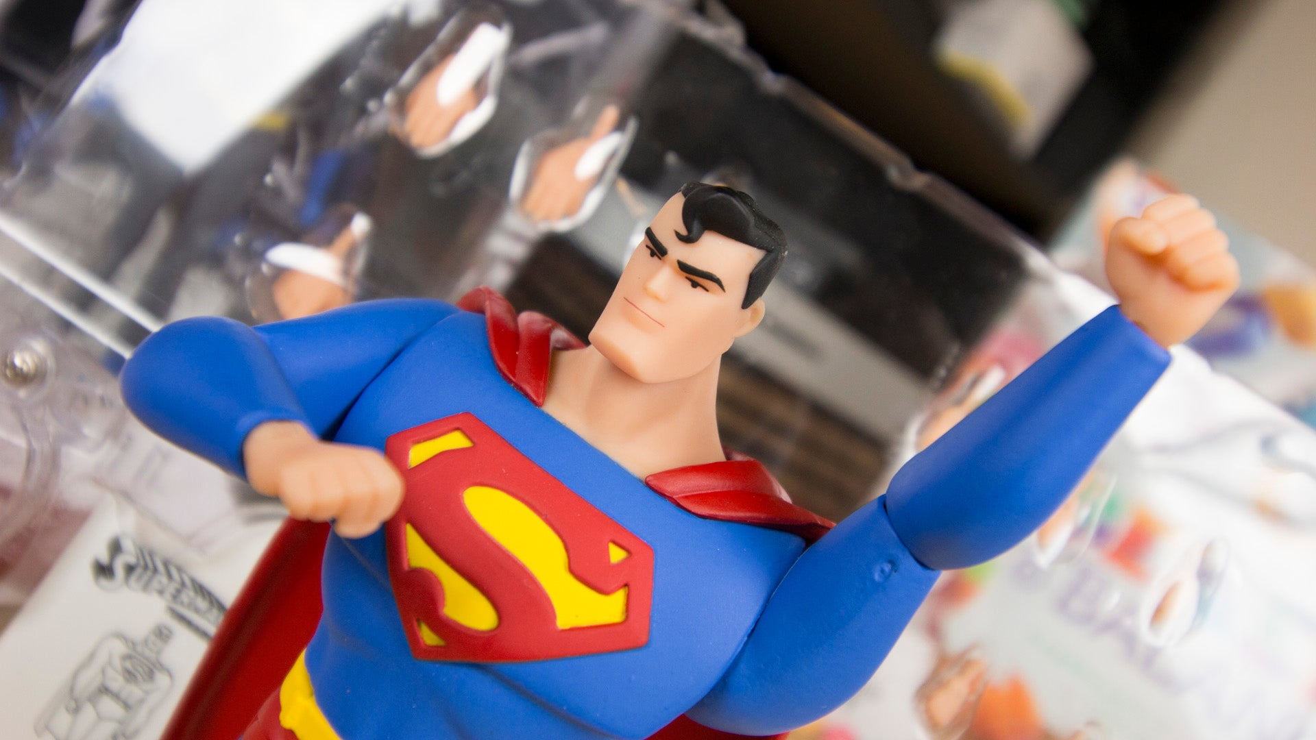 the best animated superman series gets the toys it