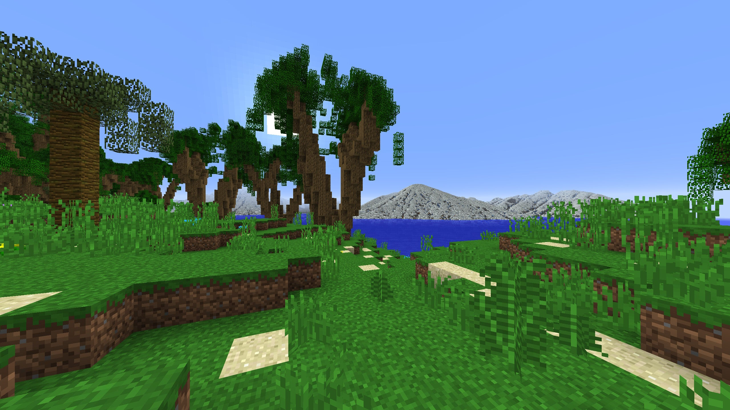 Minecraft Map is Basically 36 Square Kilometers of Primal Beauty