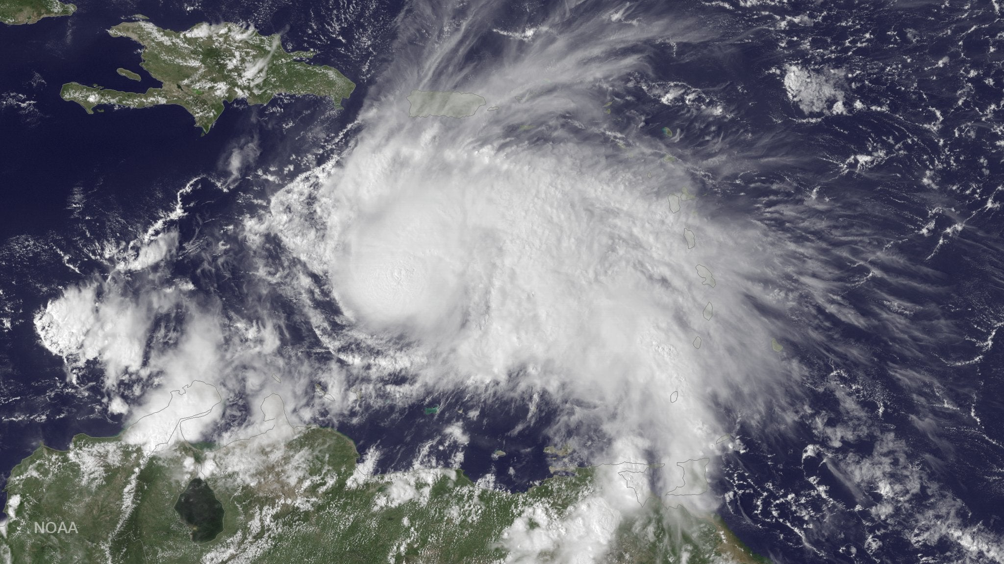 A Major Hurricane Just Developed Over The Caribbean