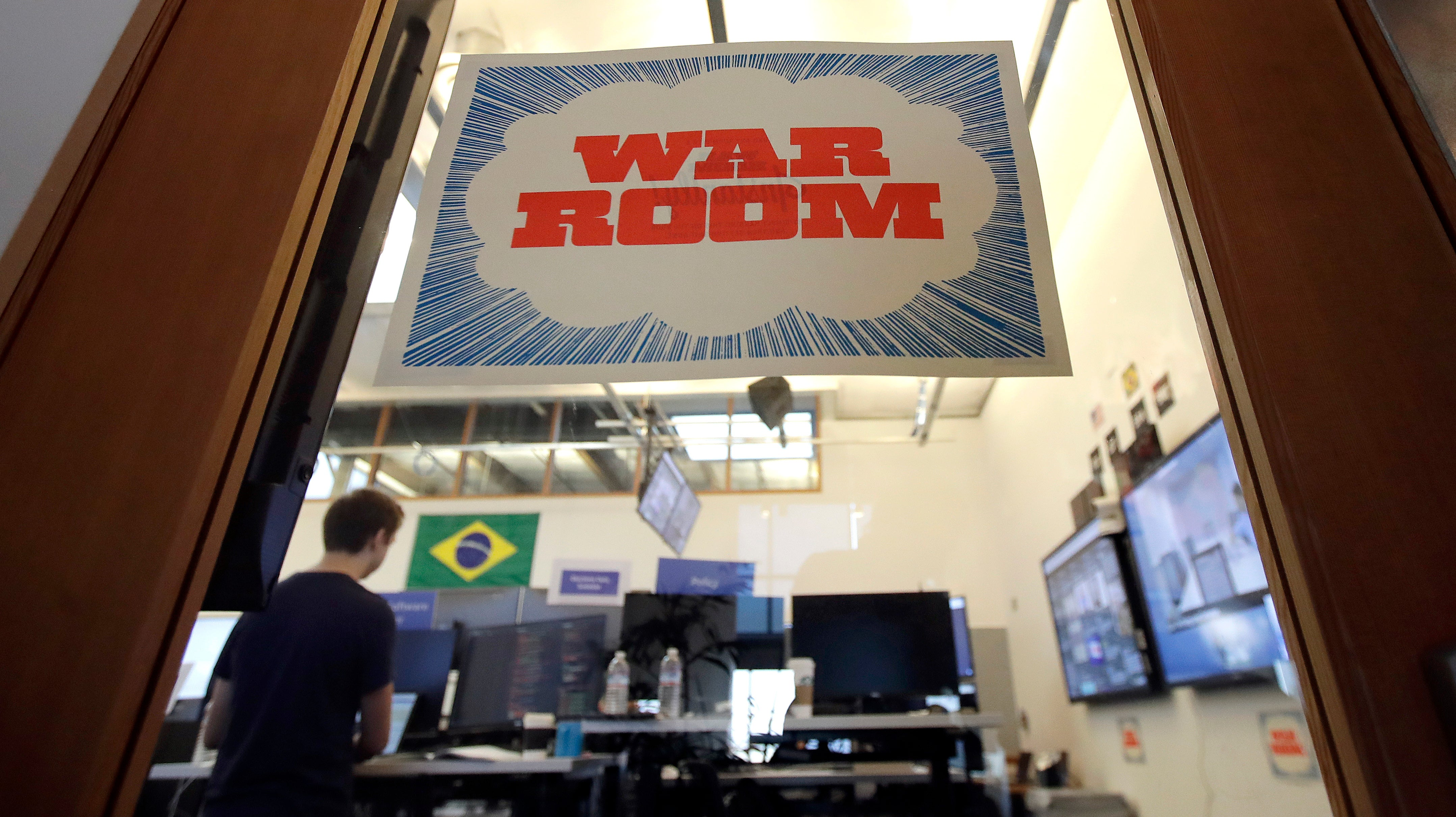 Facebook's Physical War Room Is Already Empty, But It Says 'War Room Tactics' Will Continue