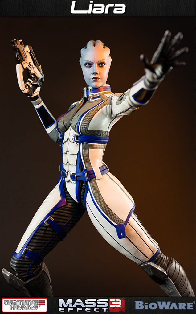 Mass Effect Statue Captures Liara's Most Endearing Qualities