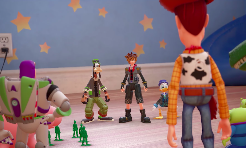 Kingdom Hearts III Releasing 2018, Toy Story World Debuted