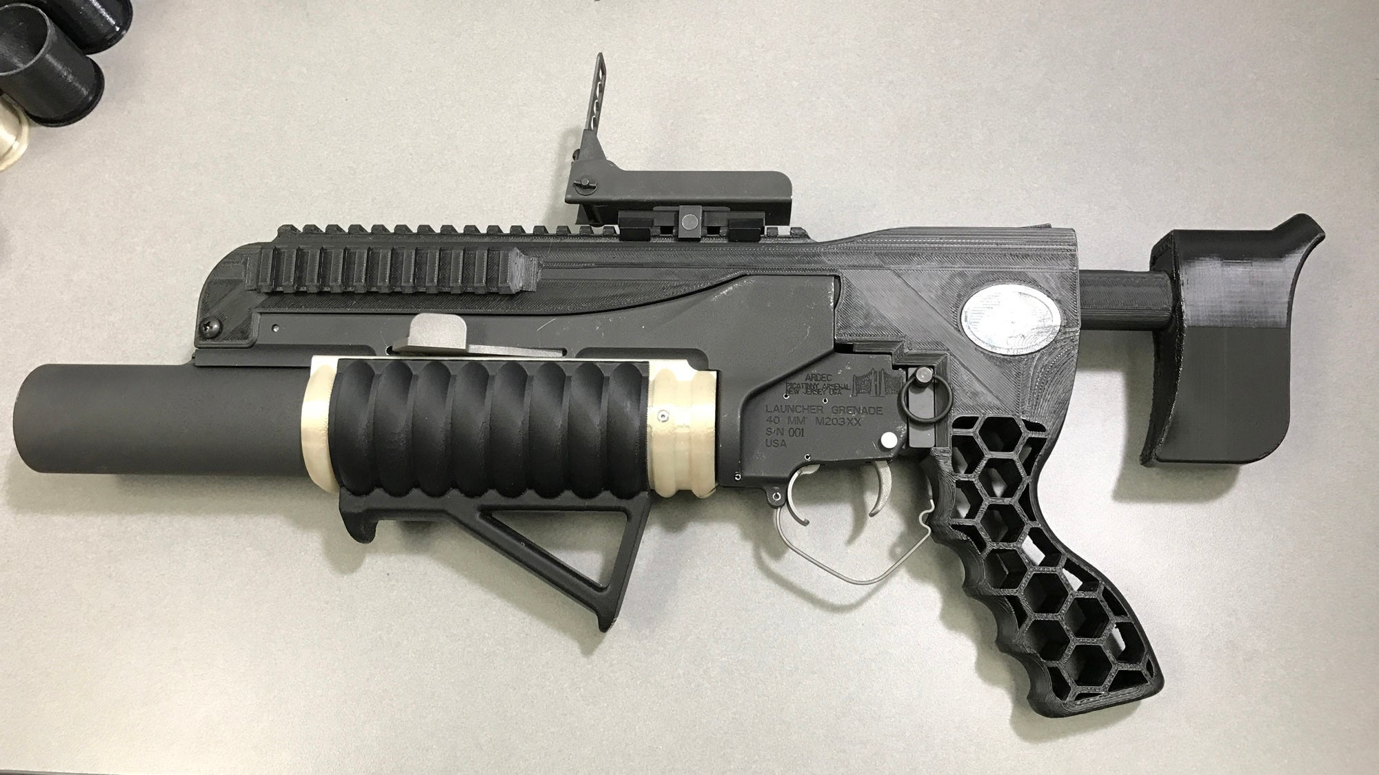 The US Army's New 3D-Printed Grenade Launcher Is Straight Out Of Science Fiction