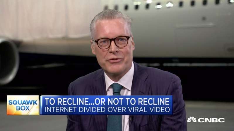 Delta CEO Nose-Dives Into The Seat Reclining Debate
