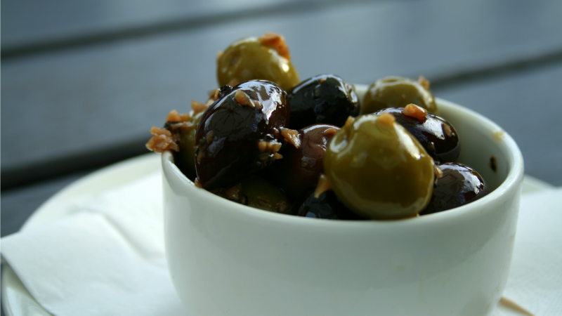 Make Tasty Tapas-Style Olives with Leftover Sardine or Anchovy Oil