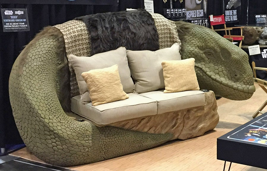 Nothing Is More Romantic Than Snuggling On A Star Wars Dewback Sofa