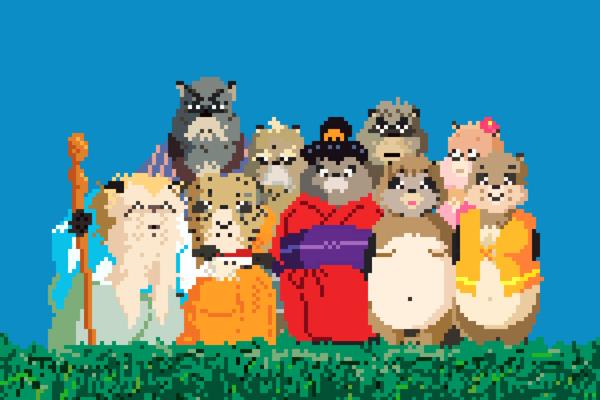 Miyazaki Films Would Be Just As Pretty In 8-Bit
