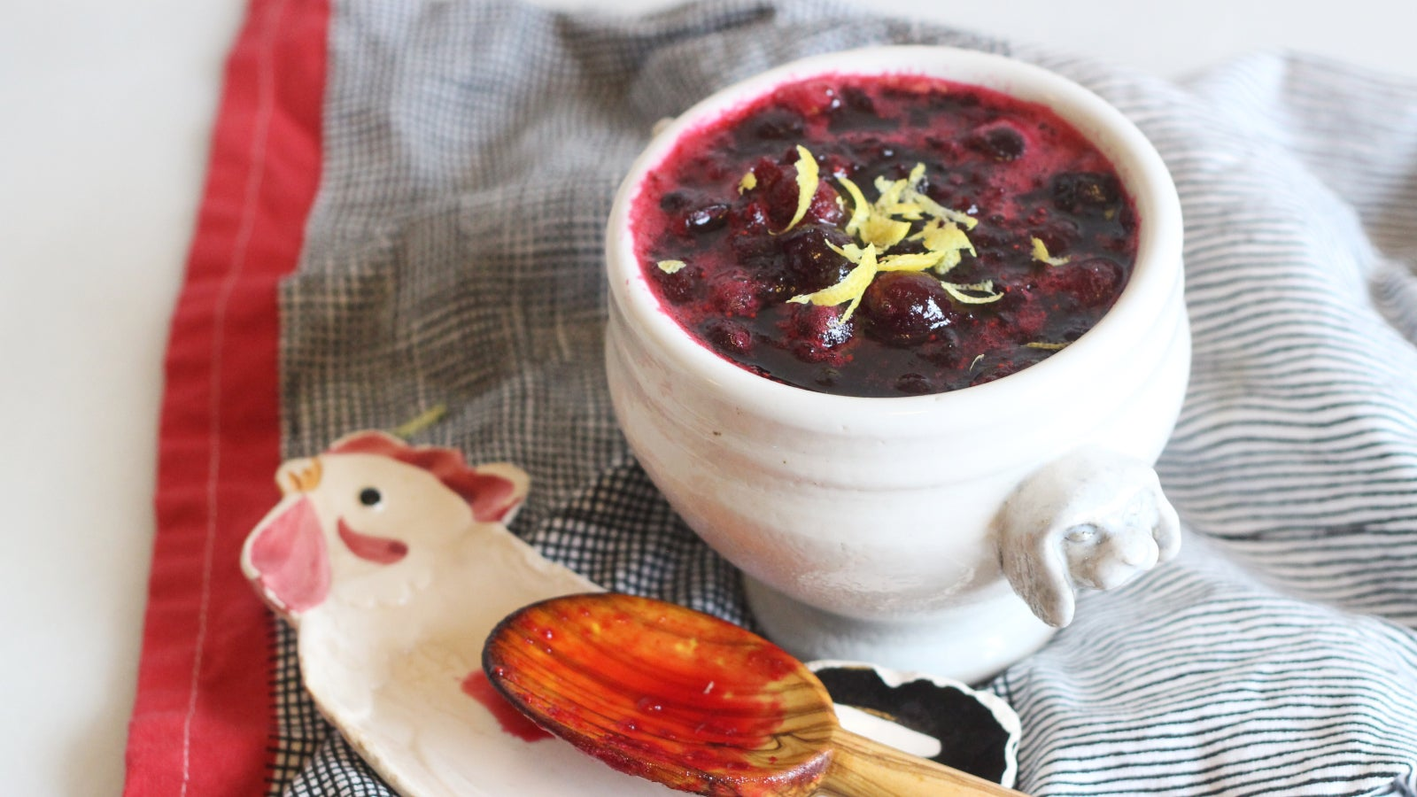 Add Blueberries To Your Cranberry Sauce
