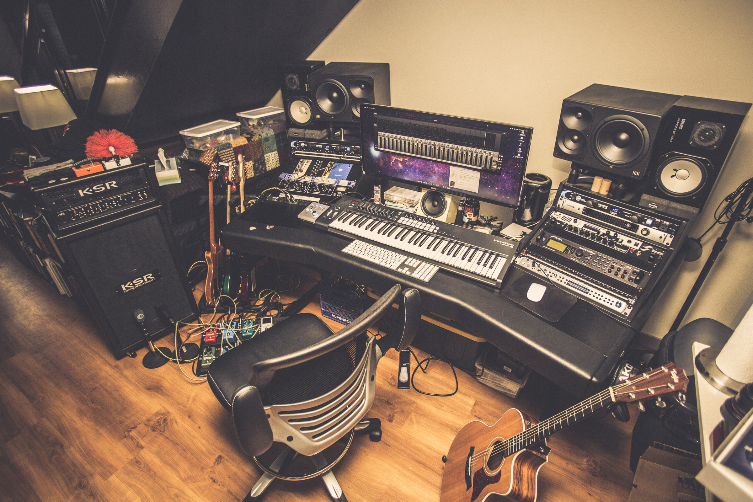 The Musician's Paradise Workspace
