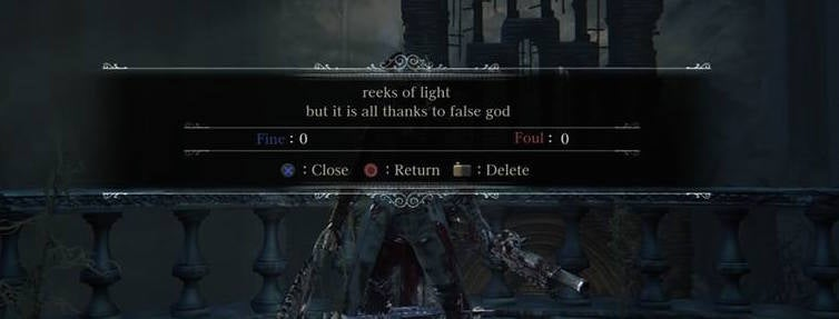 One Writer Is Trying To Make Bloodborne More Poetic