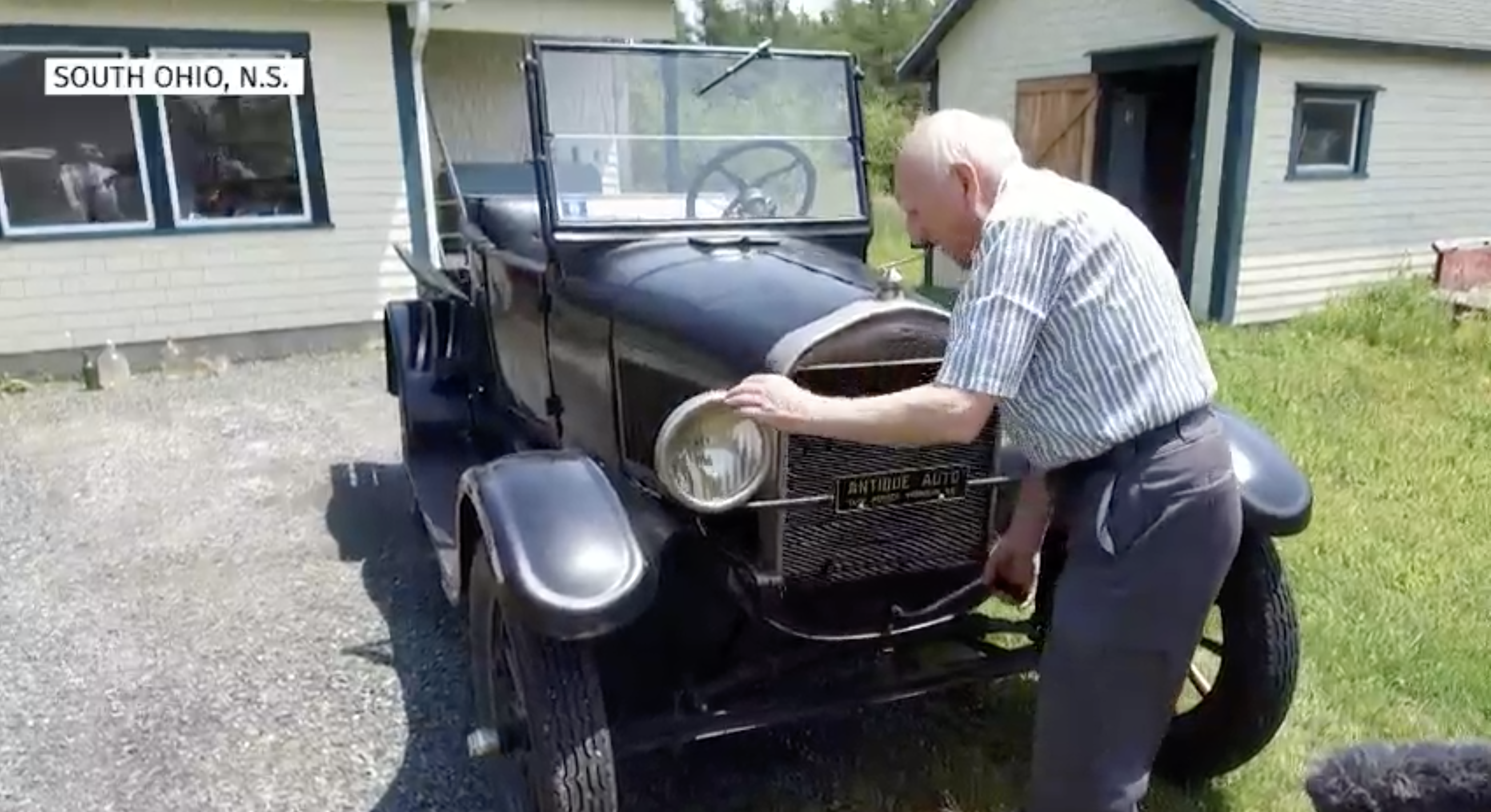 Meet The Canadian Who's Driven The Same Model T For 70 Years