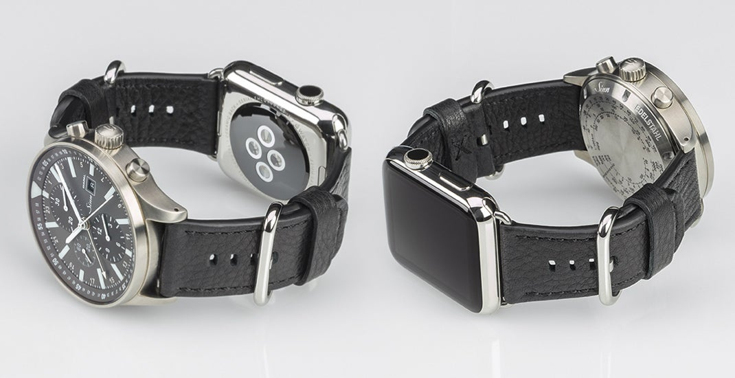 Double-Sided Strap Lets You Hide Your Apple Watch Shame Under A Nicer Timepiece