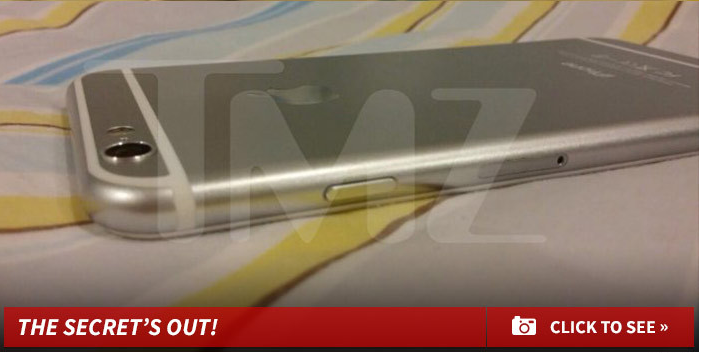 TMZ Thinks This Is an iPhone 6, Bless Its Heart