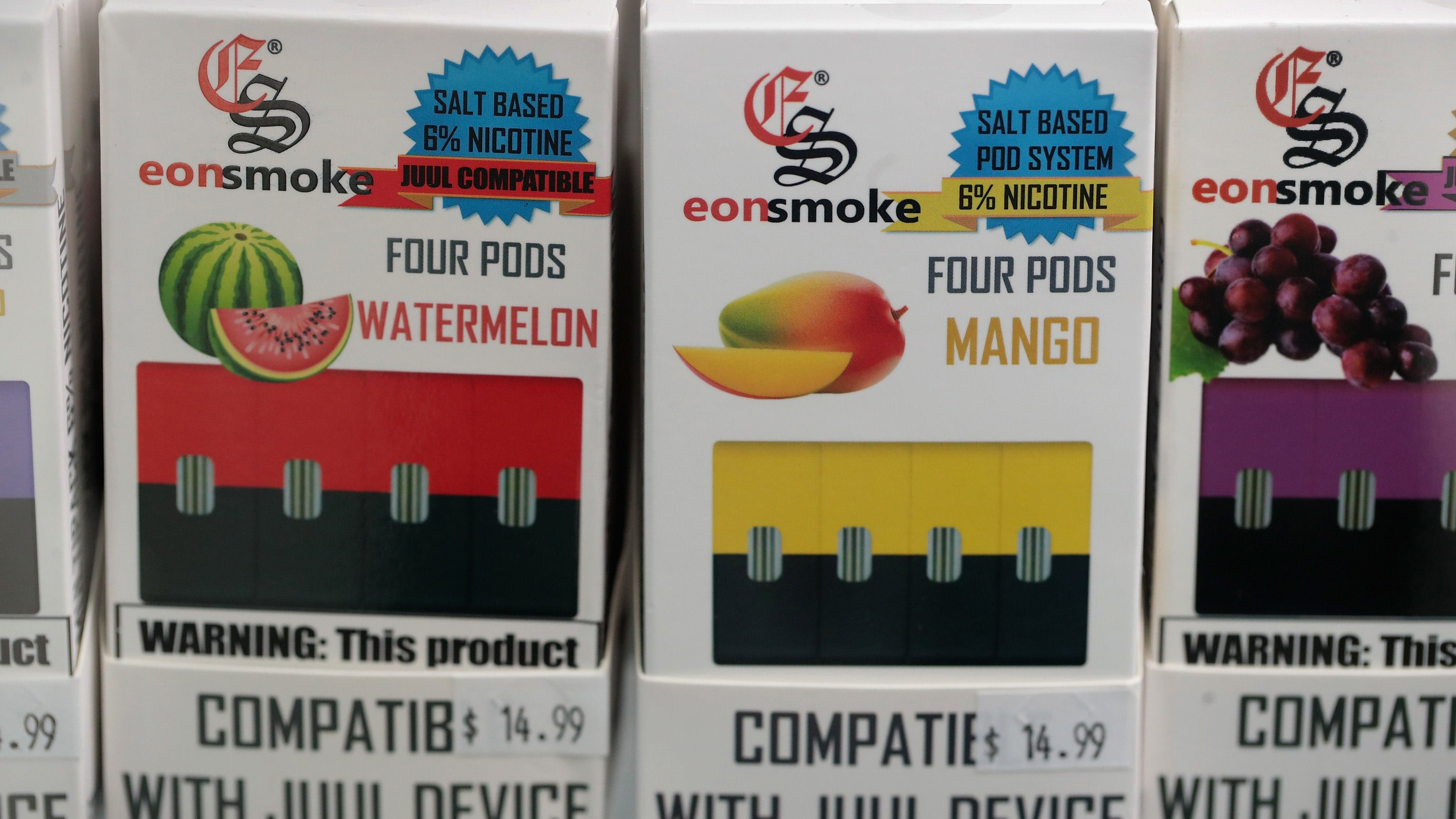 Eight More Vape Companies Sued For Allegedly Marketing To Kids