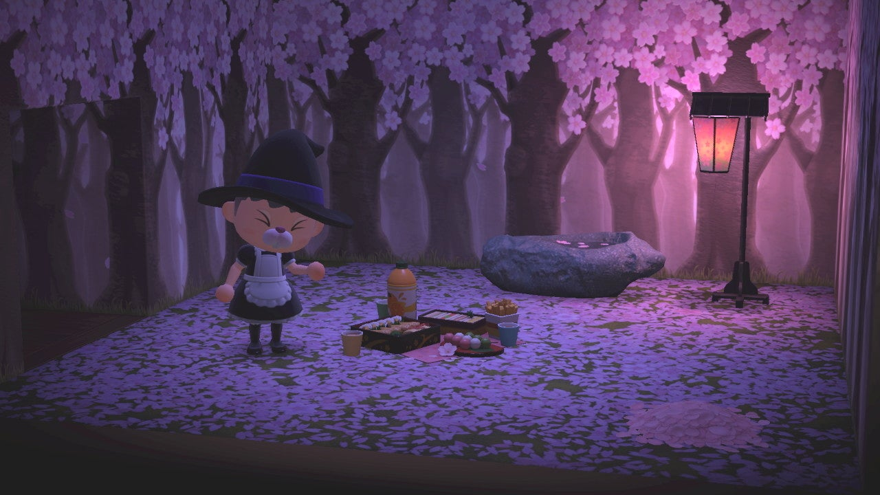 Hunting Down Animal Crossing: New Horizons' Cherry Blossom Recipes Turned Me Into A Monster