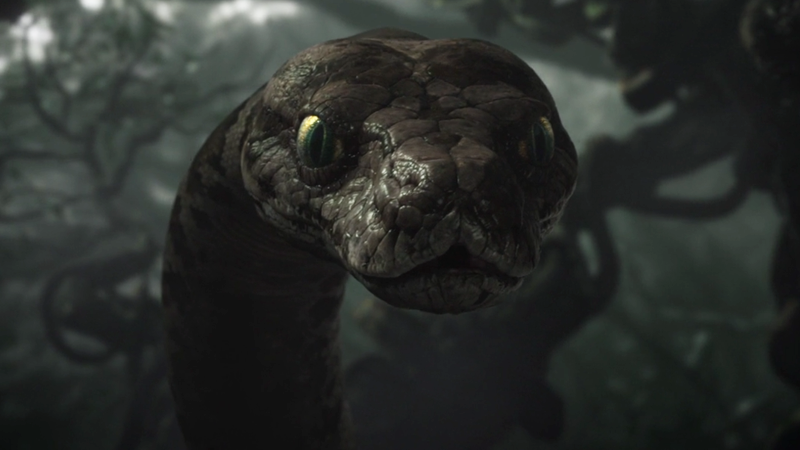 Somehow The Giant Snake Is Still The Least Weird-Looking -5034