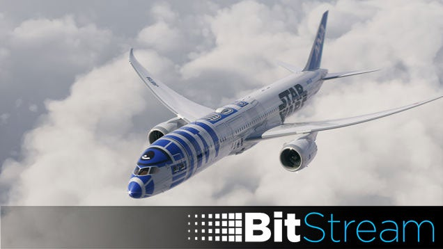 An R2-D2 Aeroplane, and Everything Else You Missed Yesterday