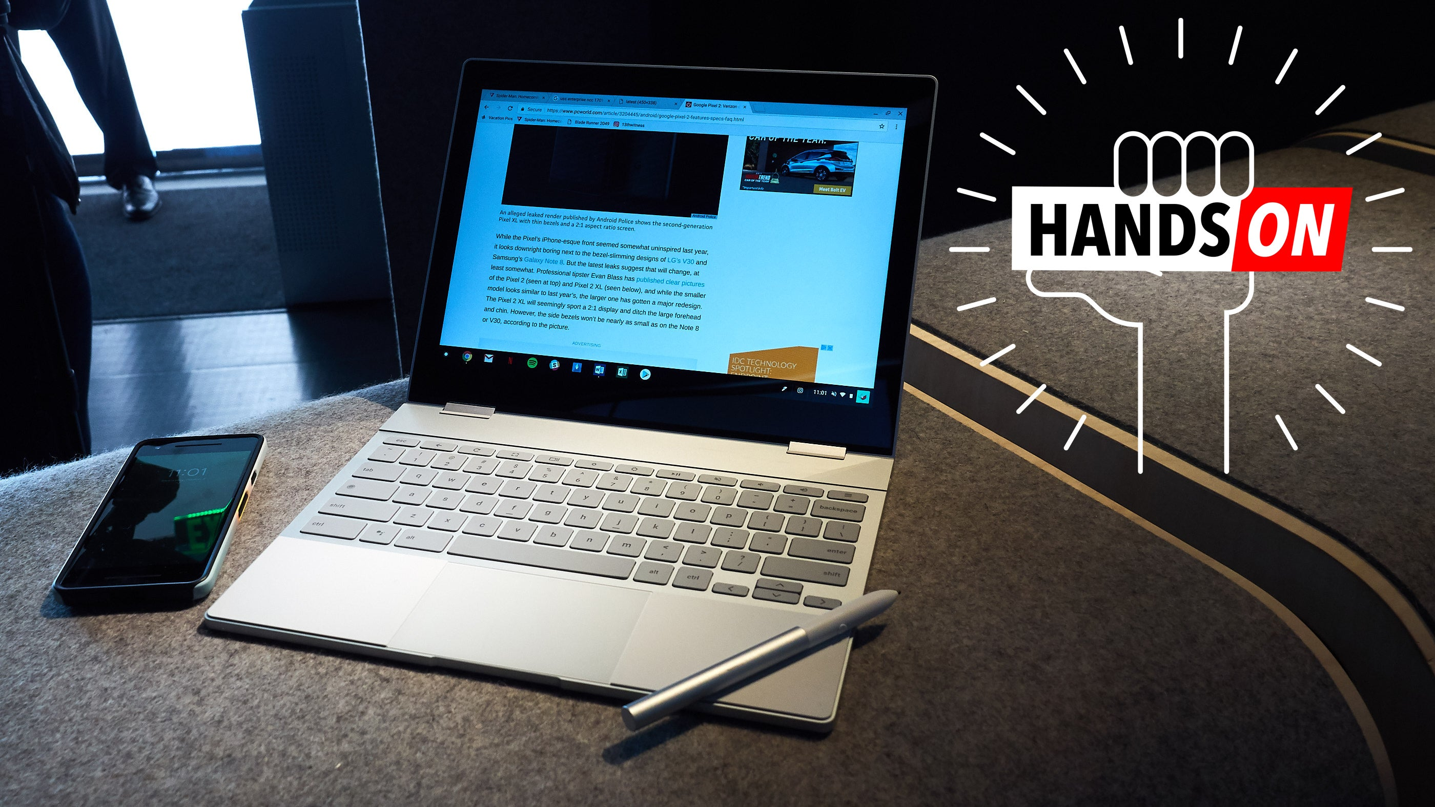 Google Pixelbook: The Gizmodo Hands-On