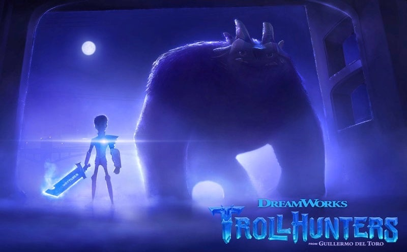 Here's the First Image from Guillermo del Toro's Netflix Series, Trollhunters