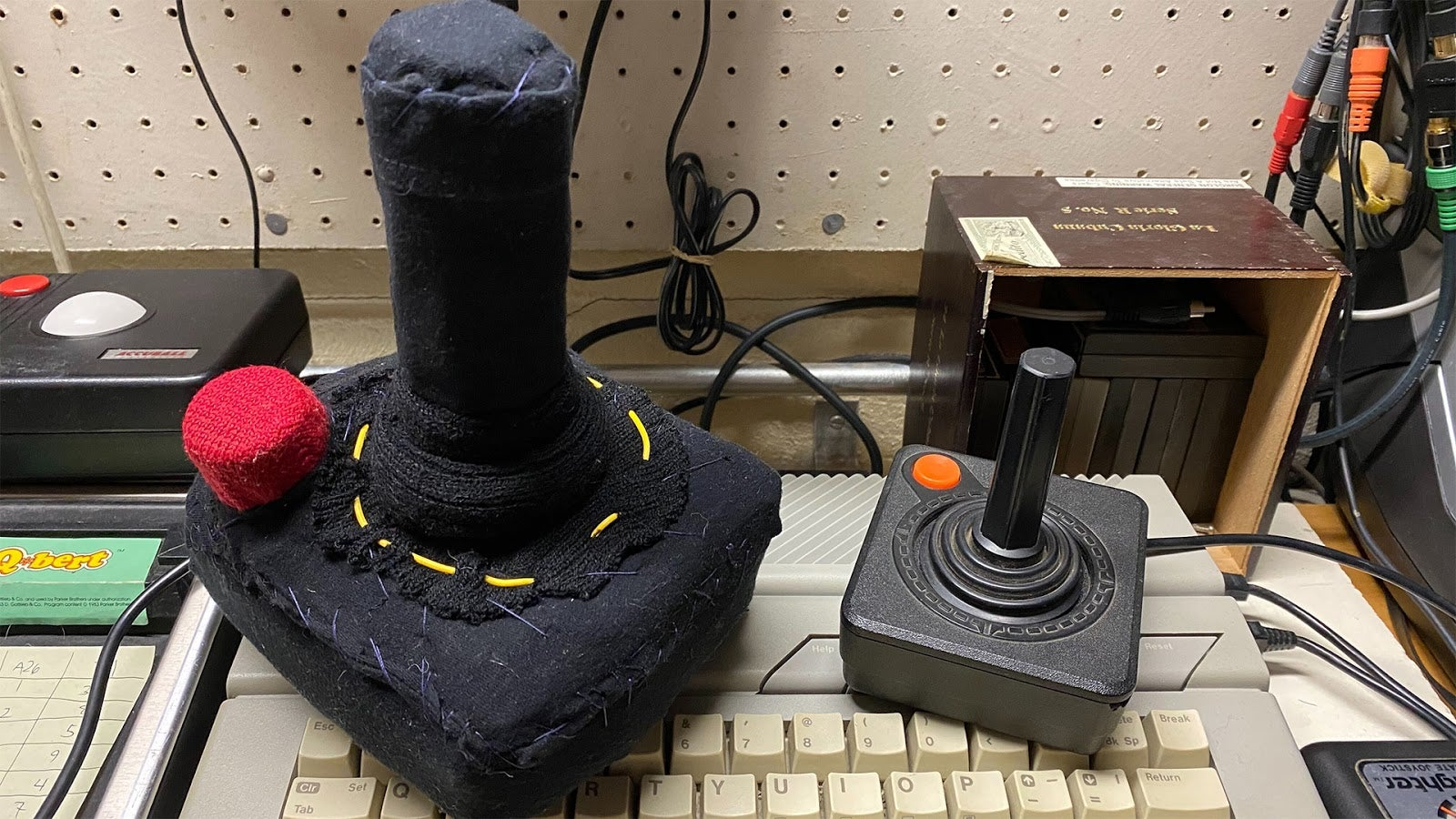 Driven Mad By Lockdown, Jalopnik Editor Sews A Working Plush Atari 2600 Joystick