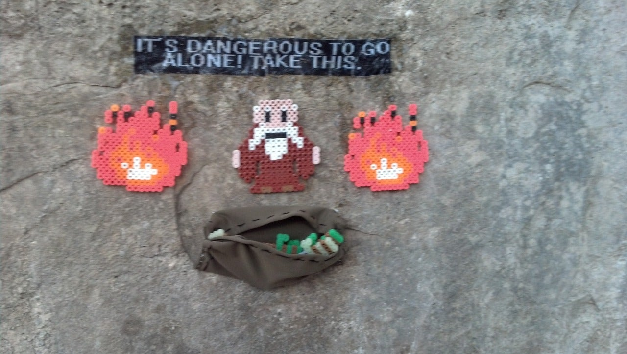 Meet The Guy Who Hides Zelda Treasures Around Austin, Texas