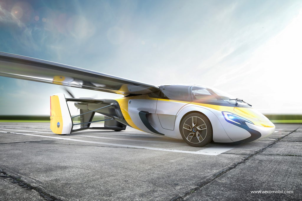 I Will Still Literally Eat The Sun If This Flying Car Is Released In 2017