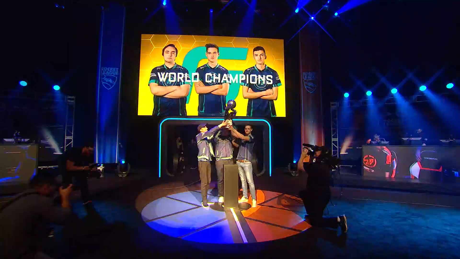 Rocket League Finals End In Nail-Biting Overtime