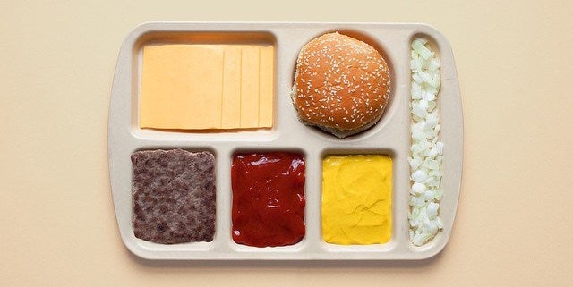 Photos show popular food deconstructed neatly