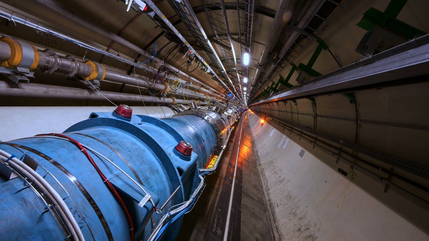 The Large Hadron Collider Accelerated 'Atoms' With Electrons For The First Time