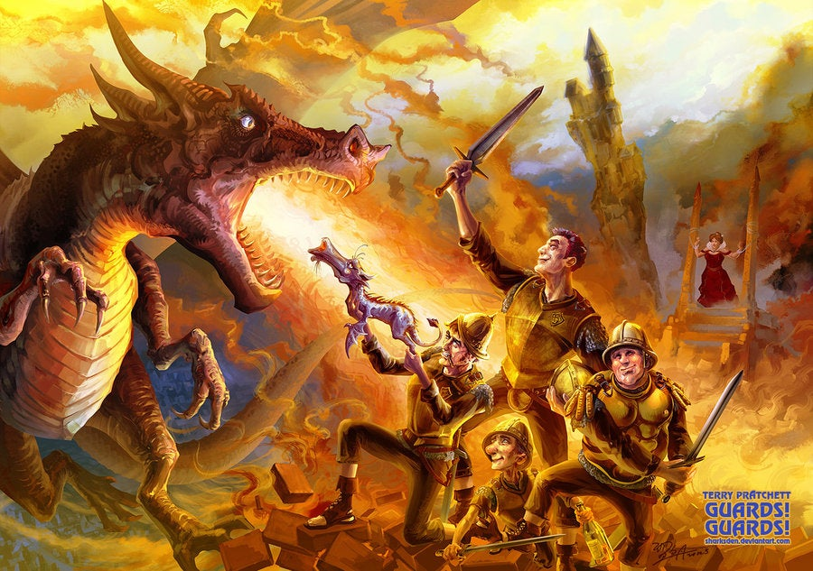 Fall In Love With Discworld All Over Again With Some Amazing Art
