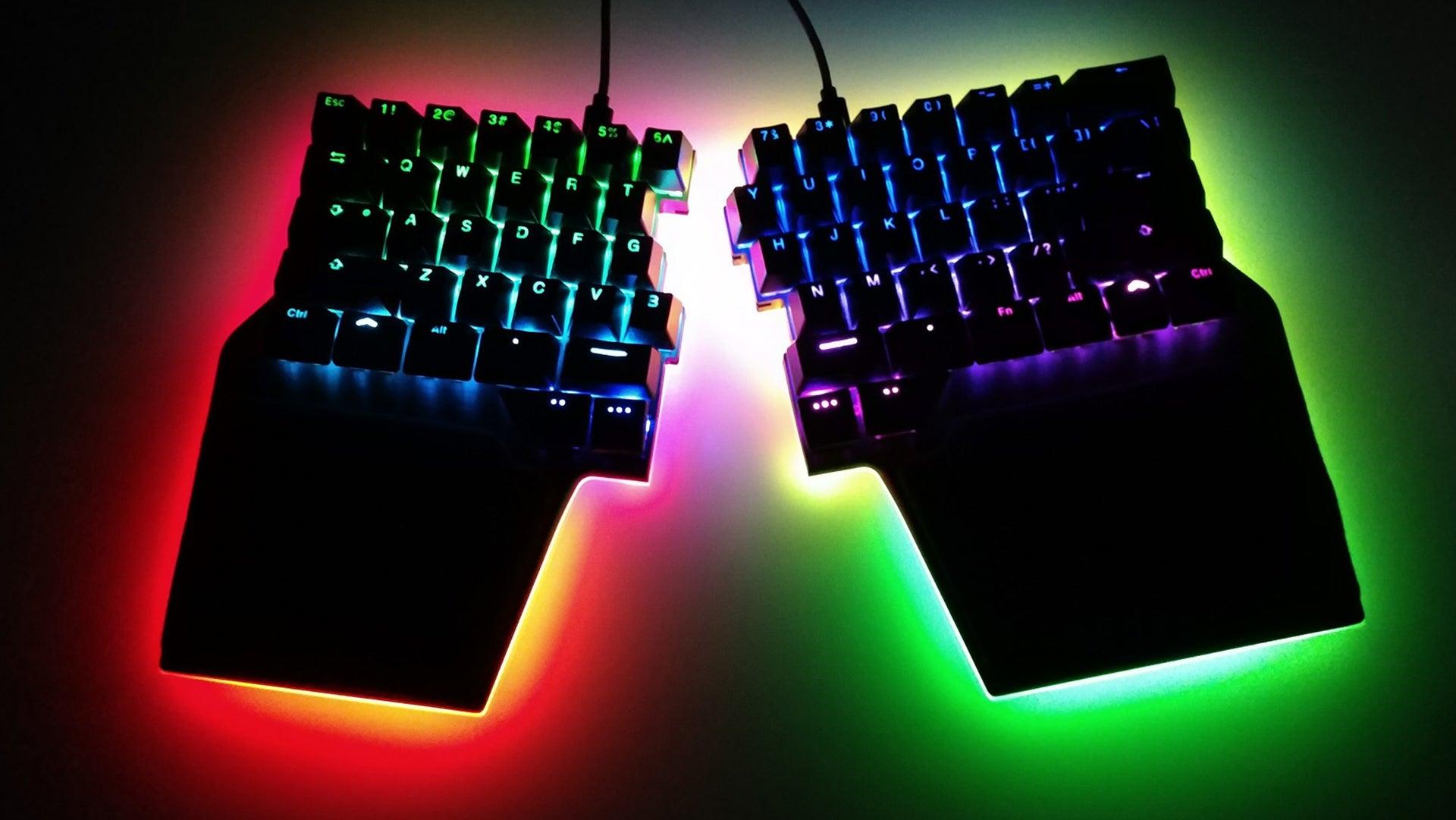 A Split Keyboard Built For Esports