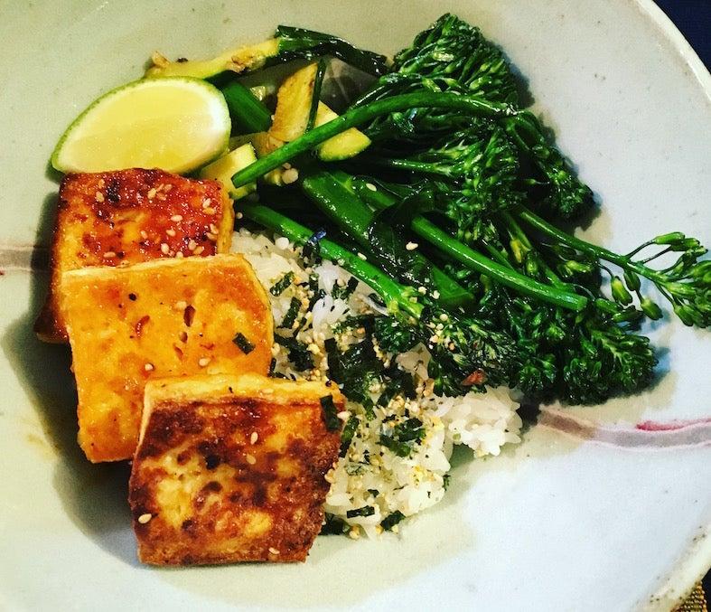 Prep Cook: Chilli Garlic Tofu Bowls And Black Bean Soup