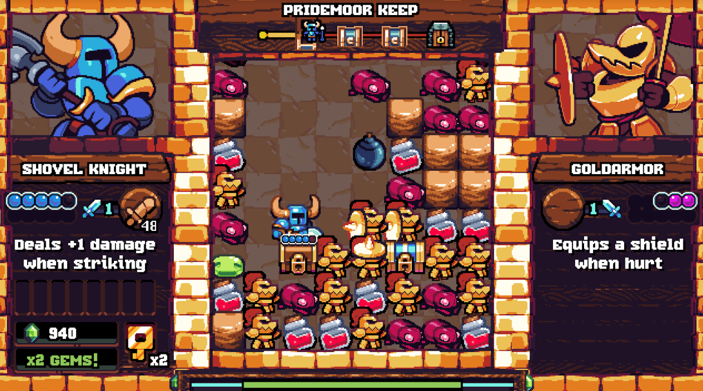 Shovel Knight Is Getting A Puzzle Spin-Off Called Shovel Knight Pocket Dungeon