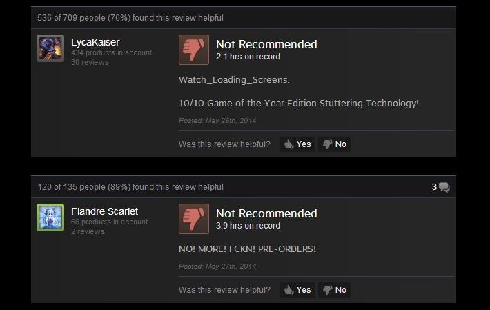 Watch Dogs, As Told By Steam Reviews