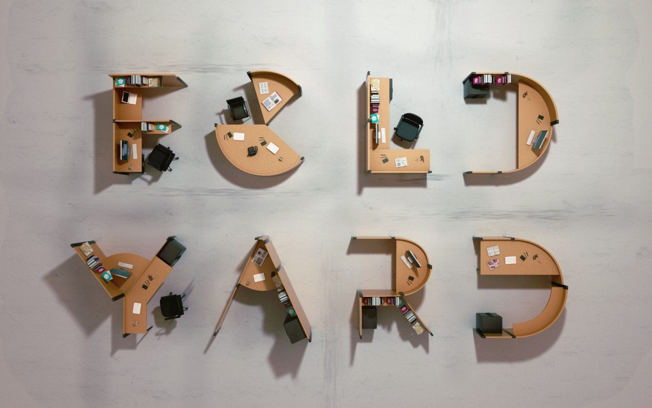 Letter Made Out Of Objects.Nine Crazy 3d Typefaces Made From Everyday Objects Gizmodo Australia