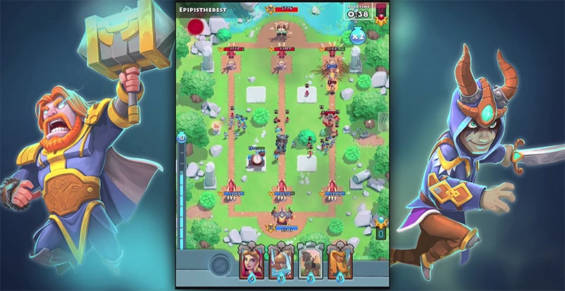 Smite's Clash Royale-Style Spin-Off Put 'On Hold'