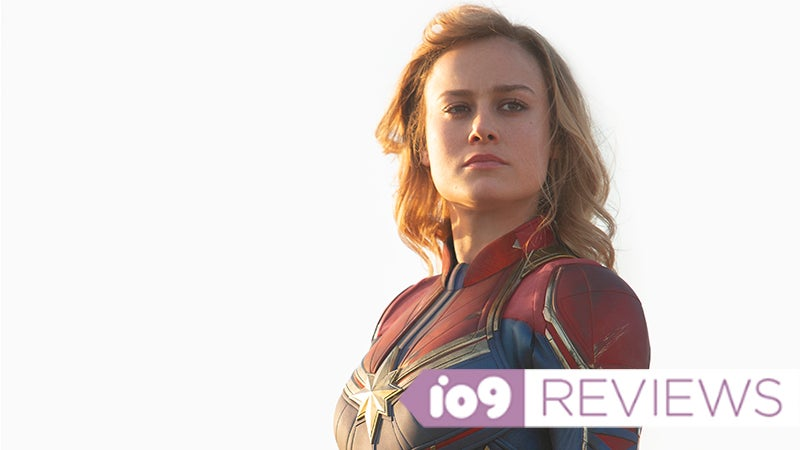 Captain Marvel Stands Tall In Her Nostalgic Cinematic Debut