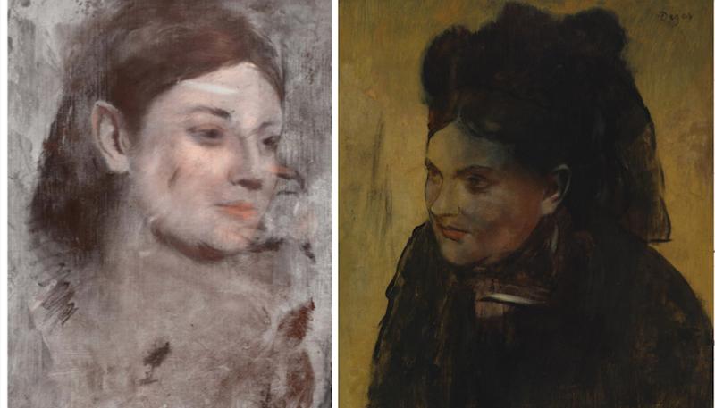 Australians X-Ray Degas Painting To Reveal A Mysterious Secret Portrait