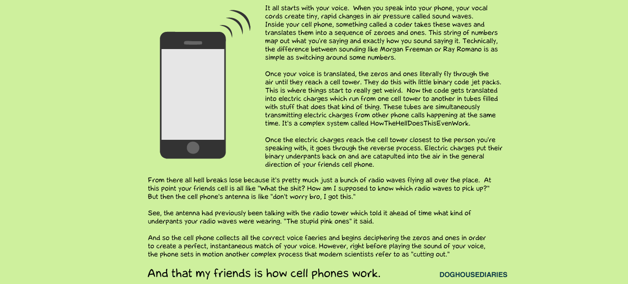 How Mobile Phones Work (By A Non-Engineer)