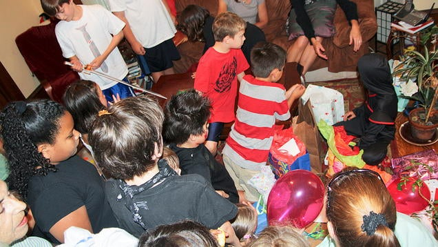 Wait Until After the Party to Open Kids' Birthday Presents
