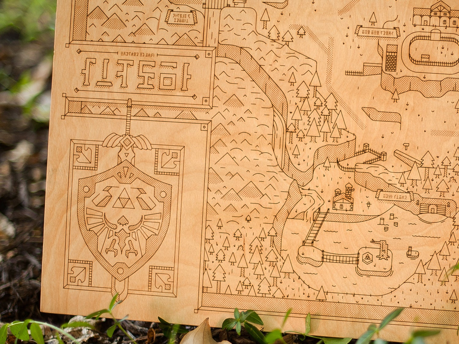 Accurate Zelda Map Means You'll Never Get Lost In The Woods Again