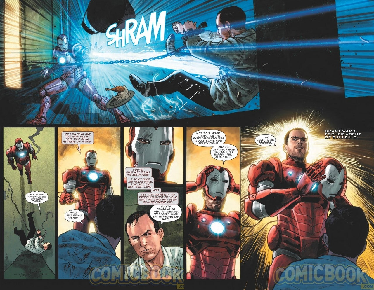 Grant Ward Is Finally Heading to Marvel's SHIELD Comics