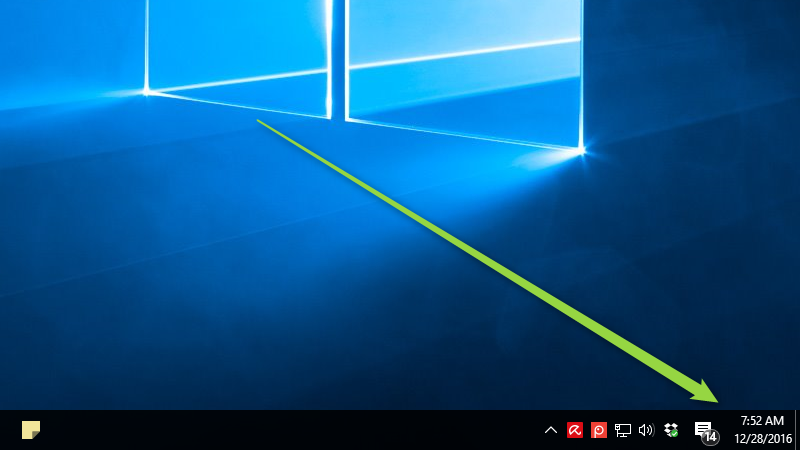 Put The Clock Back On The Right In Windows 10