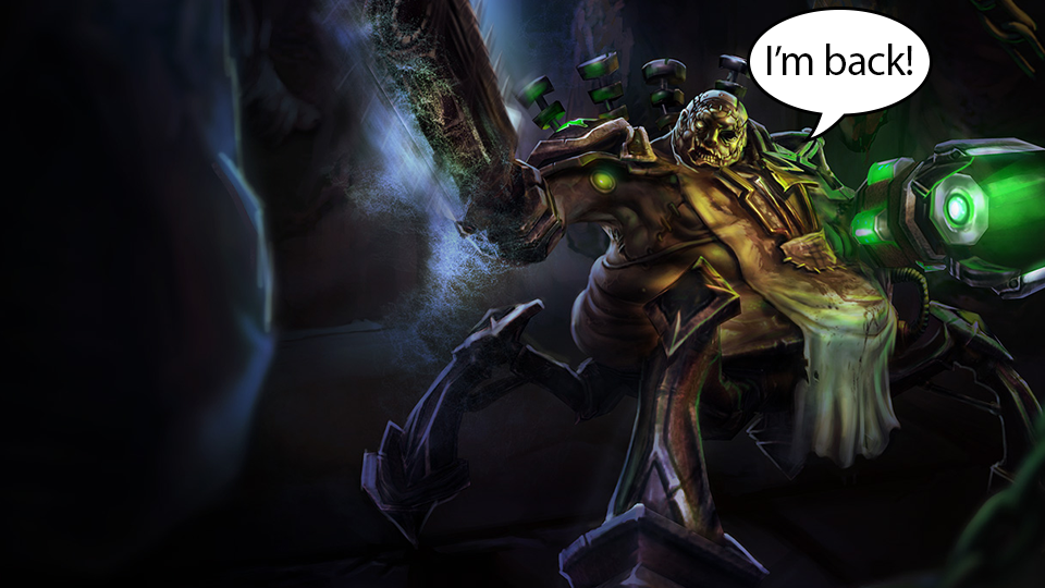 One Of League Of Legends' Worst Champions Made A Surprising Comeback